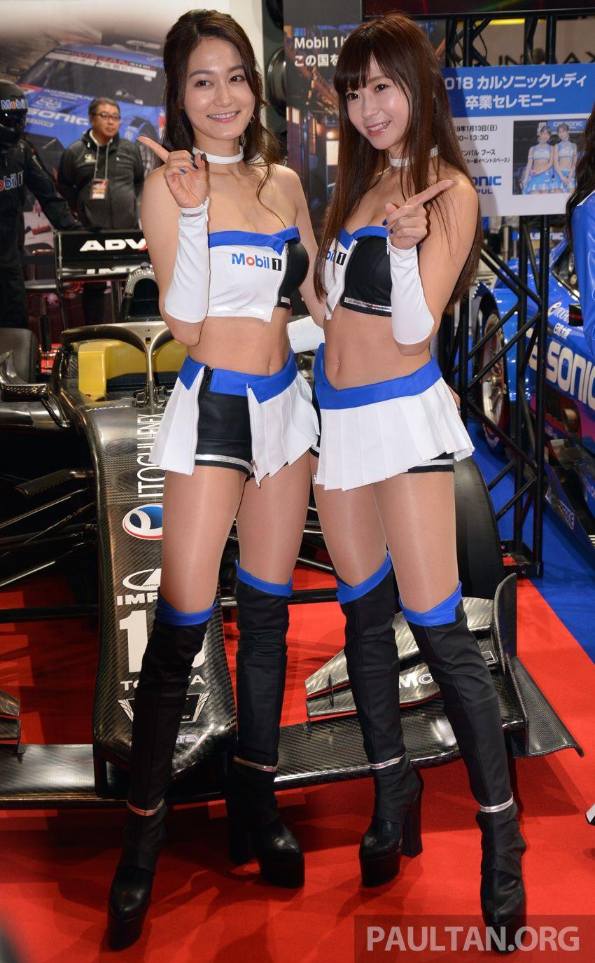 TAS 2019: <em>Kawaii</em> showgirls wrap up our mega inaugural Tokyo Auto Salon live coverage Image #916359