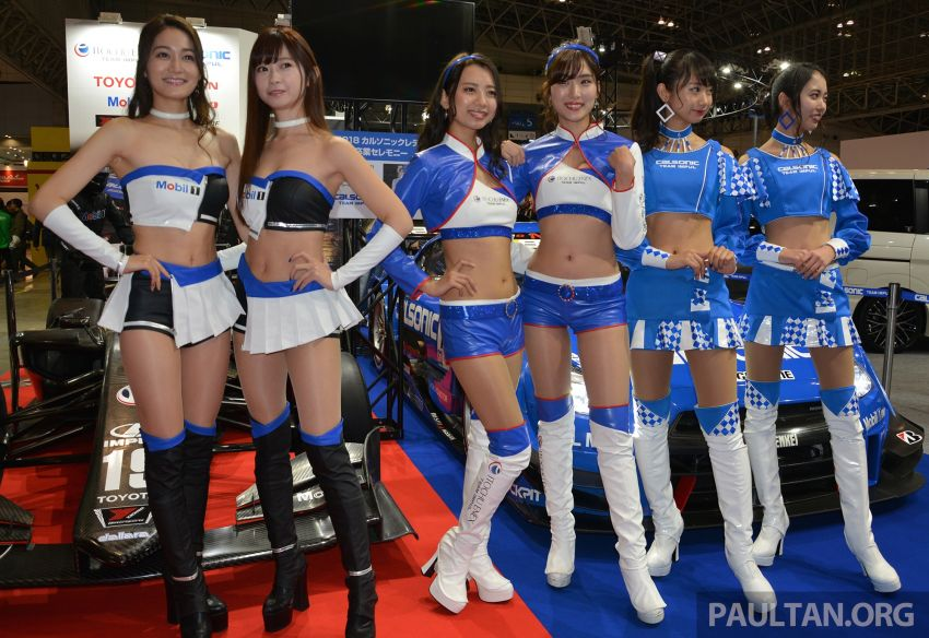 TAS 2019: <em>Kawaii</em> showgirls wrap up our mega inaugural Tokyo Auto Salon live coverage Image #916362