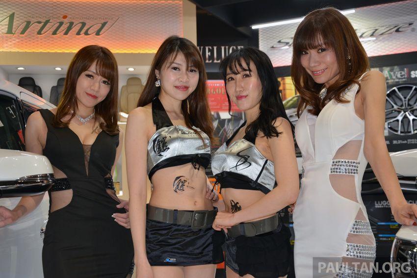 TAS 2019: <em>Kawaii</em> showgirls wrap up our mega inaugural Tokyo Auto Salon live coverage Image #916370