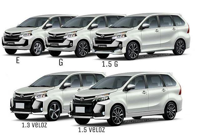 2019 Toyota Avanza facelift gets revealed before debut Image #907199