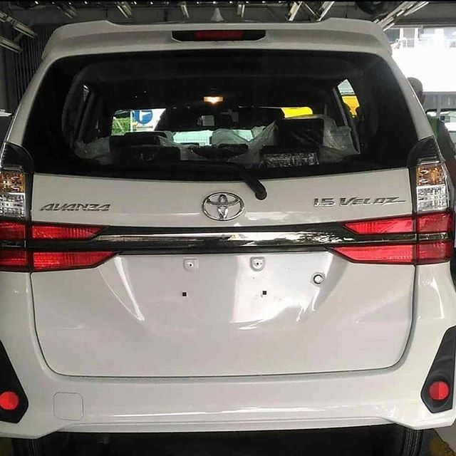 2019 Toyota Avanza facelift gets revealed before debut Image #907203