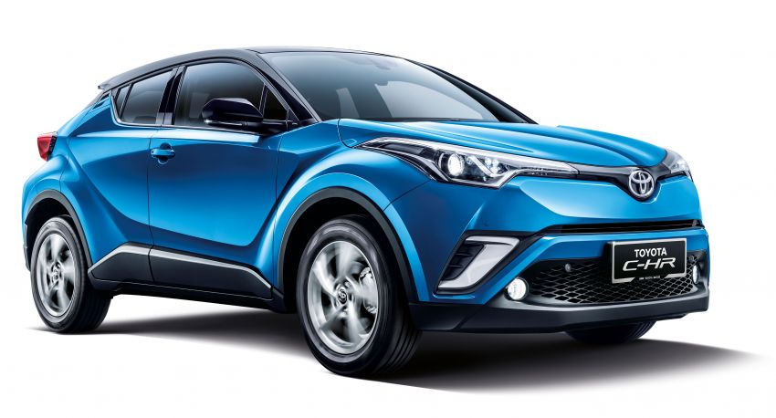 2019 Toyota C-HR introduced in Malaysia – new colour option, updated styling and equipment list; RM150k Image #914206