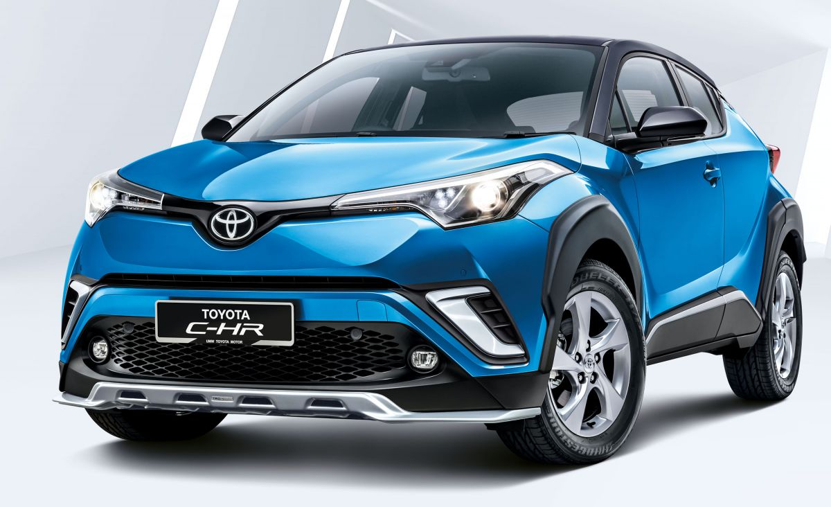 2019 toyota c-hr introduced in malaysia