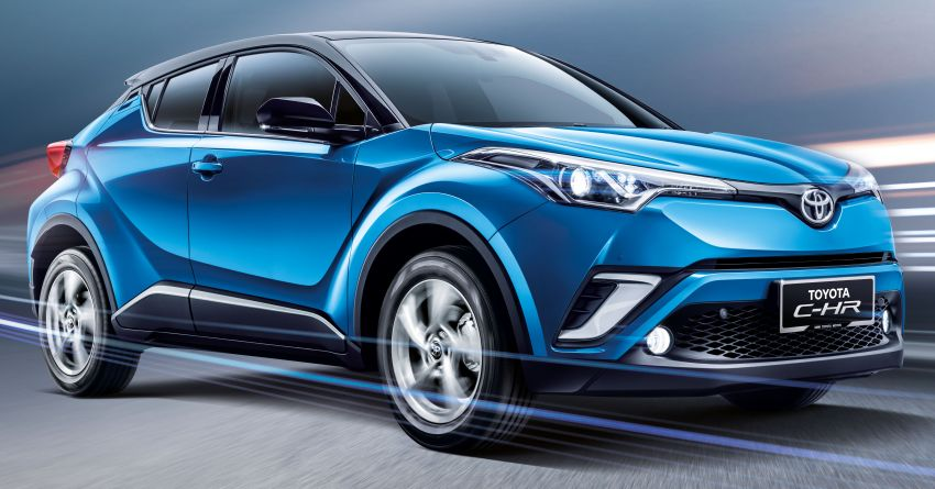 2019 Toyota C-HR introduced in Malaysia – new colour option, updated styling and equipment list; RM150k Image #914191