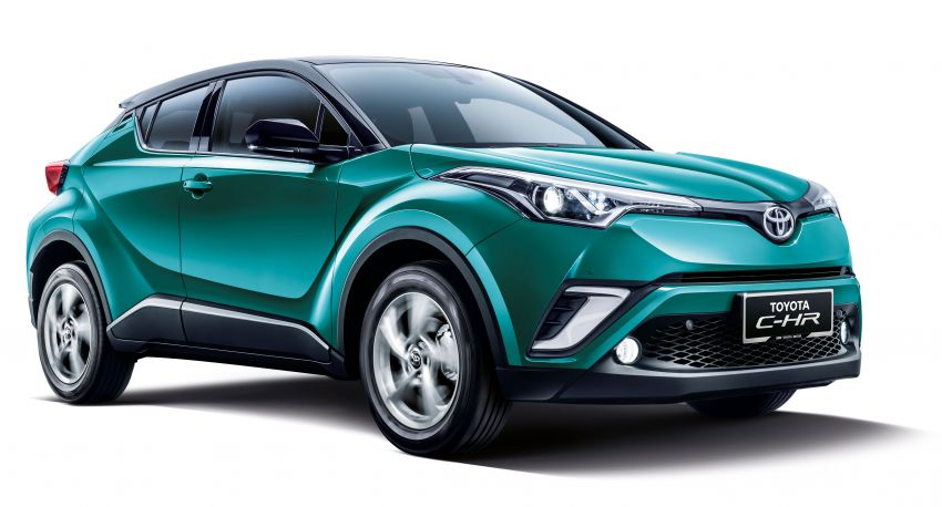 2019 Toyota C-HR introduced in Malaysia – new colour option, updated styling and equipment list; RM150k Image #914207