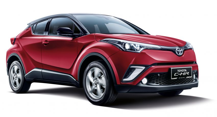 2019 Toyota C-HR introduced in Malaysia – new colour option, updated styling and equipment list; RM150k Image #914209