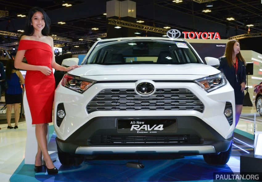2019 Toyota RAV4 launched at Singapore Motor Show Image #909418
