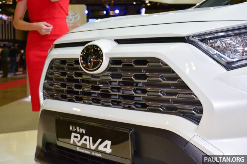 2019 Toyota RAV4 launched at Singapore Motor Show Image #909423