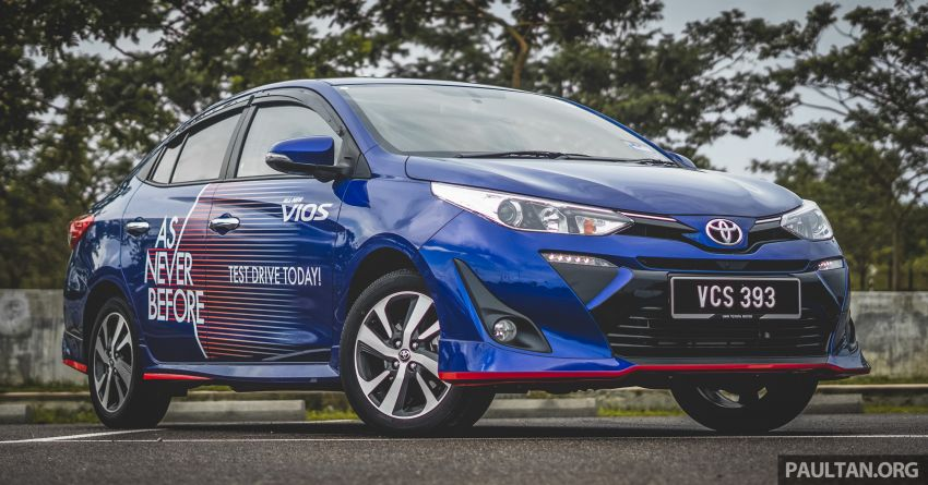 DRIVEN: 2019 Toyota Vios – old hand learns new tricks Image #916564