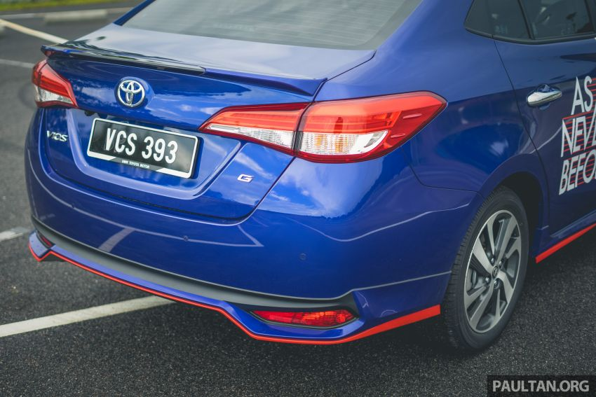 DRIVEN: 2019 Toyota Vios – old hand learns new tricks Image #916577