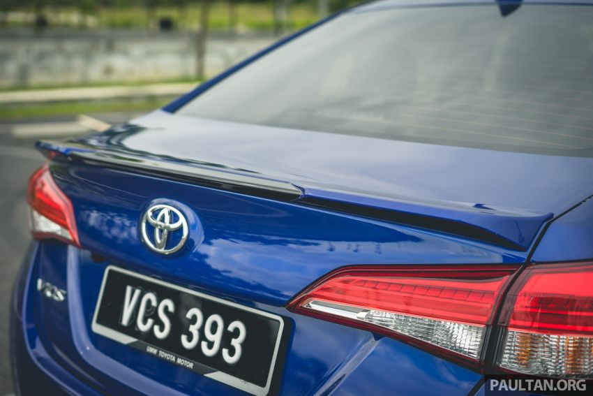 DRIVEN: 2019 Toyota Vios – old hand learns new tricks Image #916580