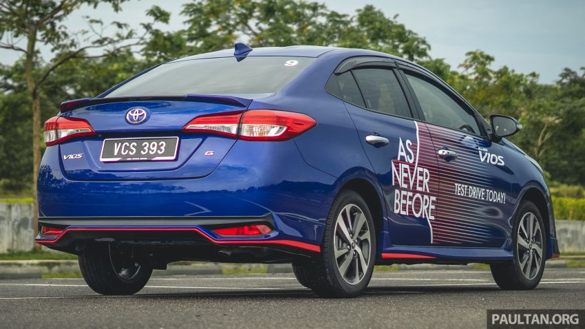 DRIVEN: 2019 Toyota Vios – old hand learns new tricks Image #916565