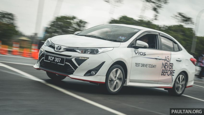 DRIVEN: 2019 Toyota Vios – old hand learns new tricks Image #916584
