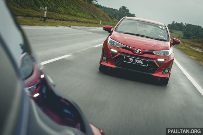 DRIVEN: 2019 Toyota Vios – old hand learns new tricks Image #916585