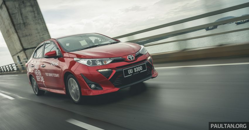 DRIVEN: 2019 Toyota Vios – old hand learns new tricks Image #916586