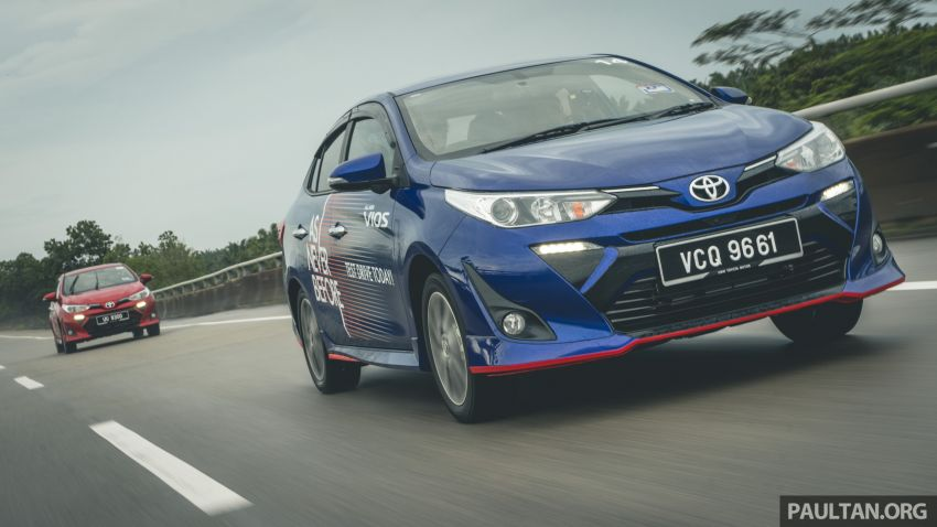 DRIVEN: 2019 Toyota Vios – old hand learns new tricks Image #916587