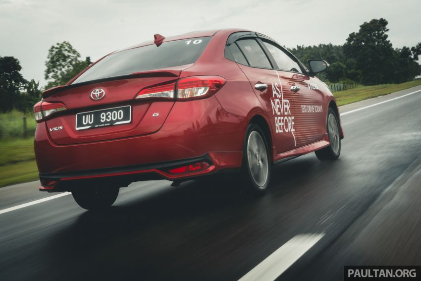 DRIVEN: 2019 Toyota Vios – old hand learns new tricks Image #916589
