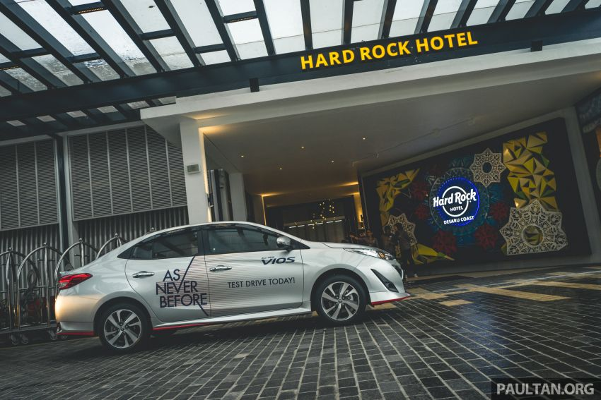 DRIVEN: 2019 Toyota Vios – old hand learns new tricks Image #916590