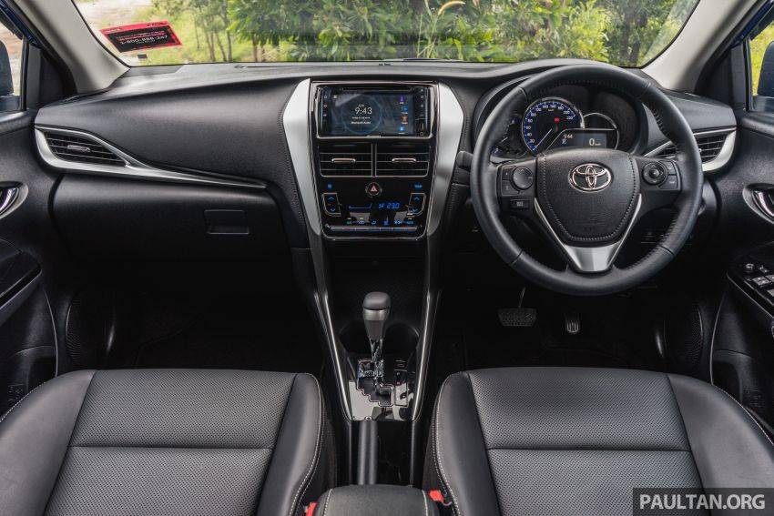 DRIVEN: 2019 Toyota Vios – old hand learns new tricks Image #916592
