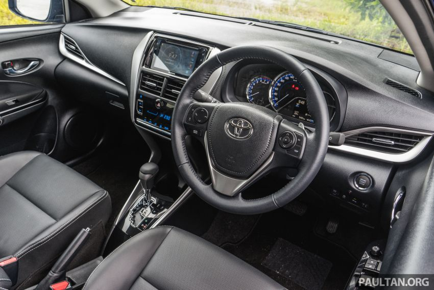 DRIVEN: 2019 Toyota Vios – old hand learns new tricks Image #916594