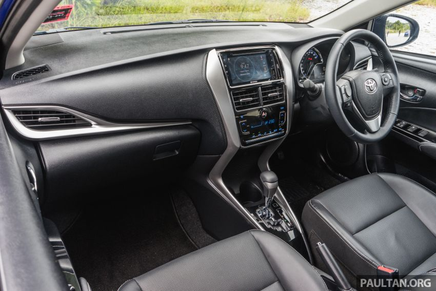 DRIVEN: 2019 Toyota Vios – old hand learns new tricks Image #916595