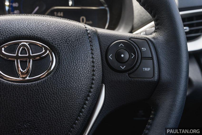 PANDU UJI: Toyota Vios 2019 – imej bergaya, karakter biasa; pilihan terbaik untuk sedan mampu milik? Image #914945