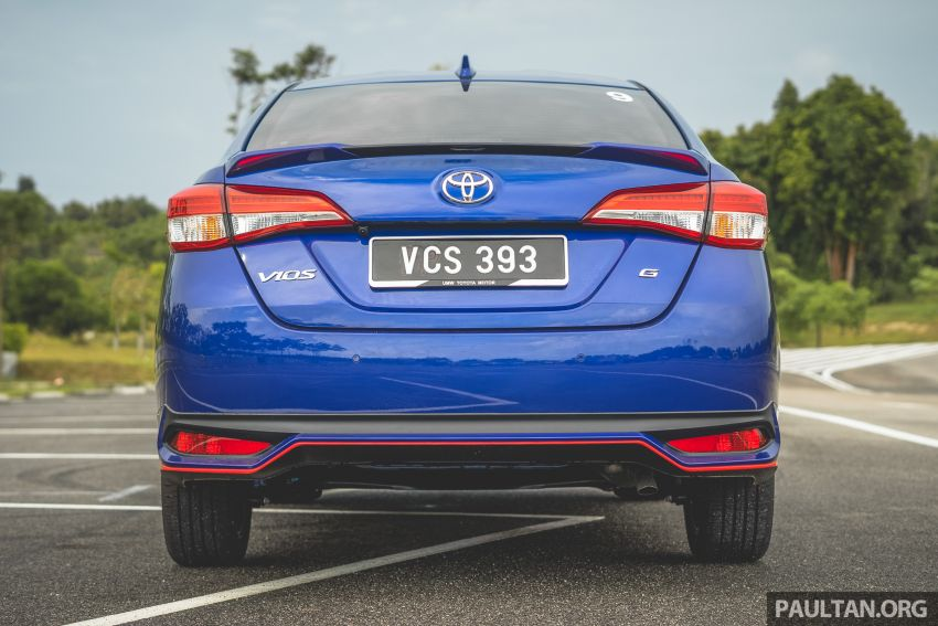 DRIVEN: 2019 Toyota Vios – old hand learns new tricks Image #916567