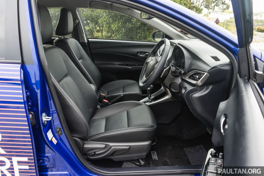 DRIVEN: 2019 Toyota Vios – old hand learns new tricks Image #916617