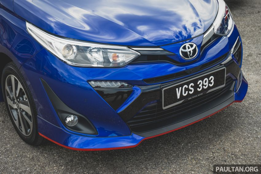 DRIVEN: 2019 Toyota Vios – old hand learns new tricks Image #916569