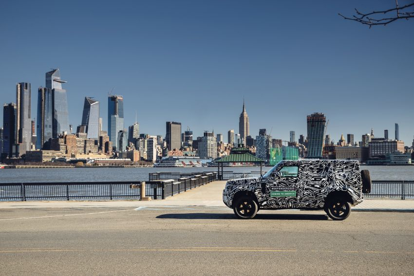 Next-generation Land Rover Defender to debut in 2019 – off-roader makes its return to North America in 2020 Image #906220
