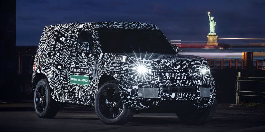 Next-generation Land Rover Defender to debut in 2019 – off-roader makes its return to North America in 2020 Image #906211