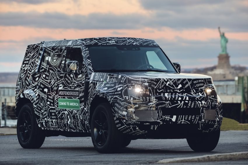 Next-generation Land Rover Defender to debut in 2019 – off-roader makes its return to North America in 2020 Image #906213
