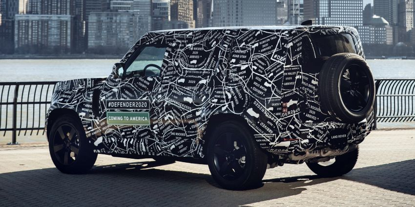 Next-generation Land Rover Defender to debut in 2019 – off-roader makes its return to North America in 2020 Image #906216