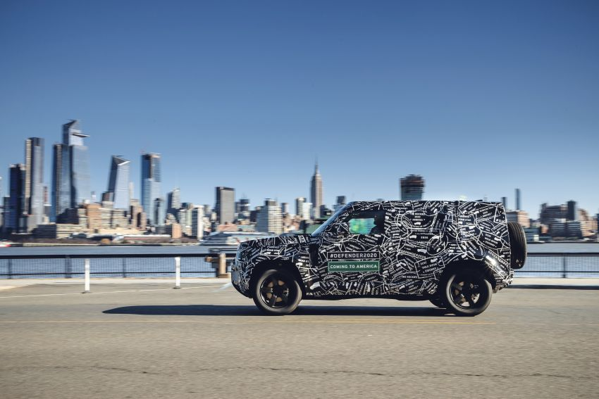 Next-generation Land Rover Defender to debut in 2019 – off-roader makes its return to North America in 2020 Image #906218