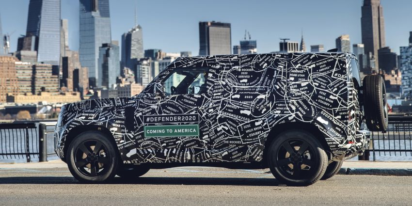 Next-generation Land Rover Defender to debut in 2019 – off-roader makes its return to North America in 2020 Image #906219