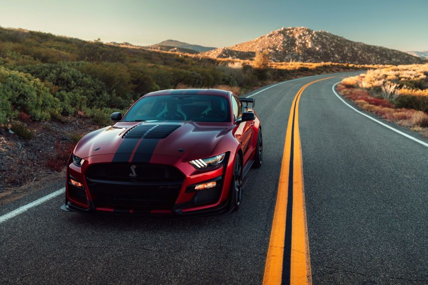 2020 Mustang Shelby GT500 debuts in Detroit – 5.2 litre supercharged V8; 700 hp, 0-98 km/h under 3.5s Image #911802