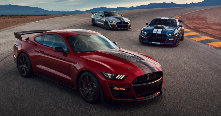 2020 Mustang Shelby GT500 debuts in Detroit – 5.2 litre supercharged V8; 700 hp, 0-98 km/h under 3.5s Image #911805