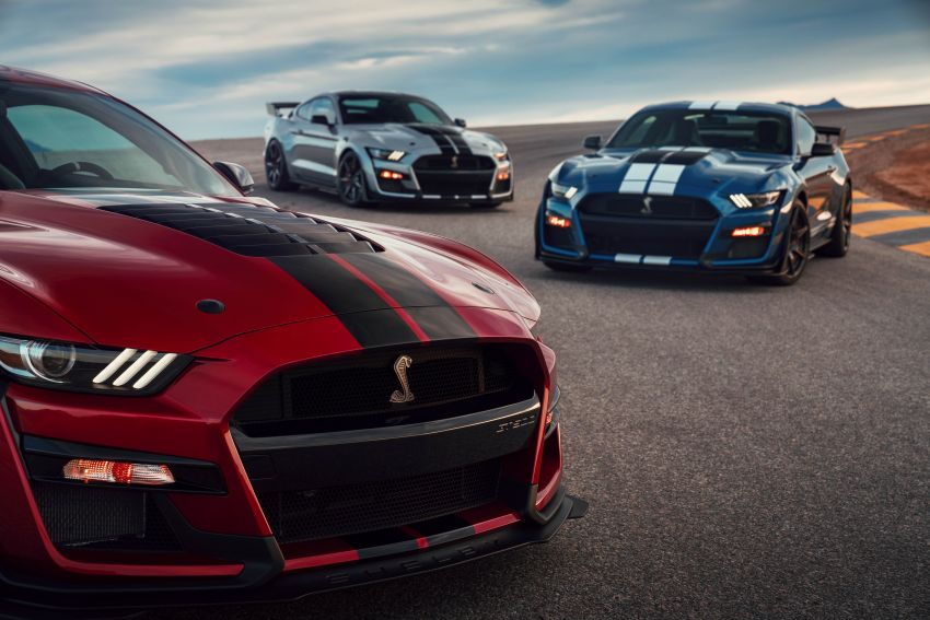 2020 Mustang Shelby GT500 debuts in Detroit – 5.2 litre supercharged V8; 700 hp, 0-98 km/h under 3.5s Image #911806