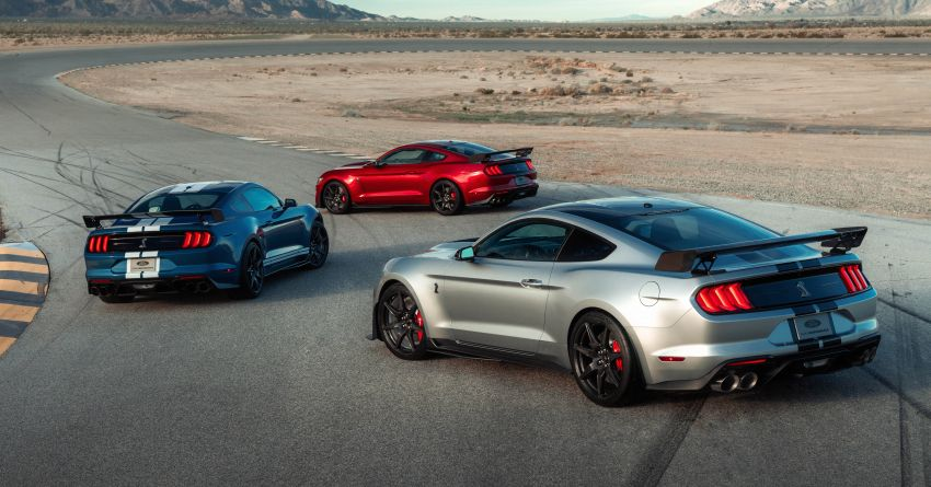 2020 Mustang Shelby GT500 debuts in Detroit – 5.2 litre supercharged V8; 700 hp, 0-98 km/h under 3.5s Image #911807