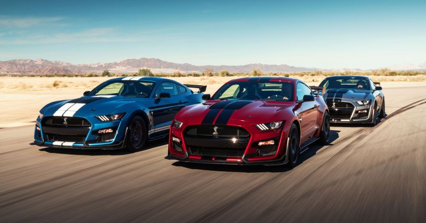 2020 Mustang Shelby GT500 debuts in Detroit – 5.2 litre supercharged V8; 700 hp, 0-98 km/h under 3.5s Image #911810