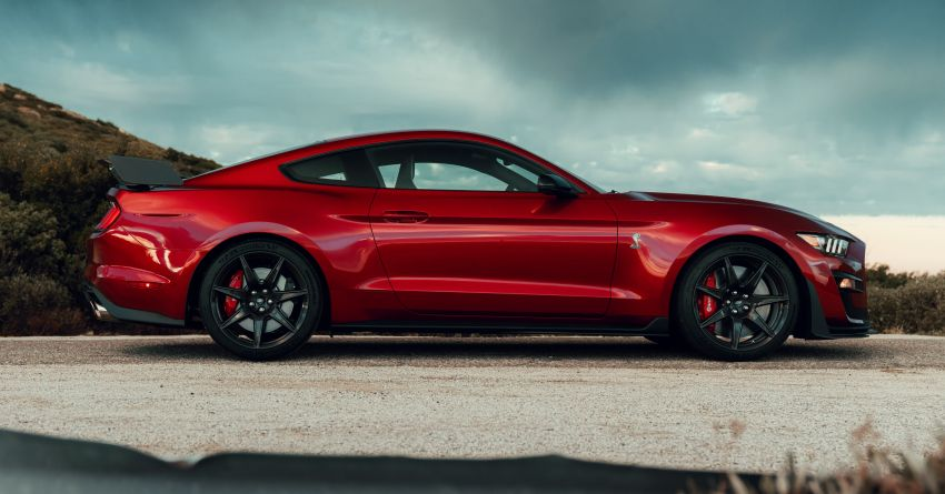2020 Mustang Shelby GT500 debuts in Detroit – 5.2 litre supercharged V8; 700 hp, 0-98 km/h under 3.5s Image #911790