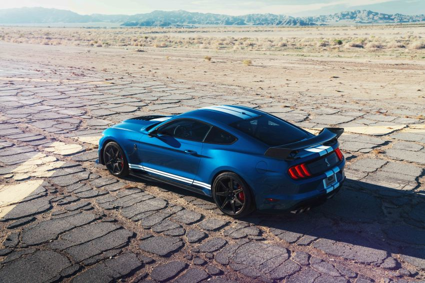 2020 Mustang Shelby GT500 debuts in Detroit – 5.2 litre supercharged V8; 700 hp, 0-98 km/h under 3.5s Image #911812