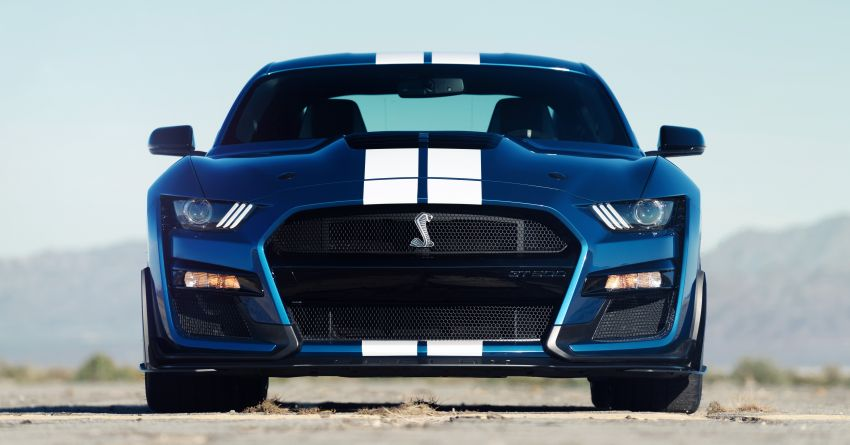 2020 Mustang Shelby GT500 debuts in Detroit – 5.2 litre supercharged V8; 700 hp, 0-98 km/h under 3.5s Image #911815