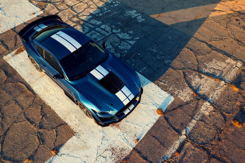 2020 Mustang Shelby GT500 debuts in Detroit – 5.2 litre supercharged V8; 700 hp, 0-98 km/h under 3.5s Image #911818