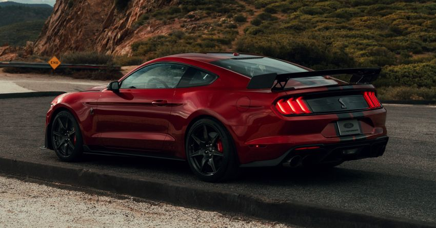 2020 Mustang Shelby GT500 debuts in Detroit – 5.2 litre supercharged V8; 700 hp, 0-98 km/h under 3.5s Image #911792
