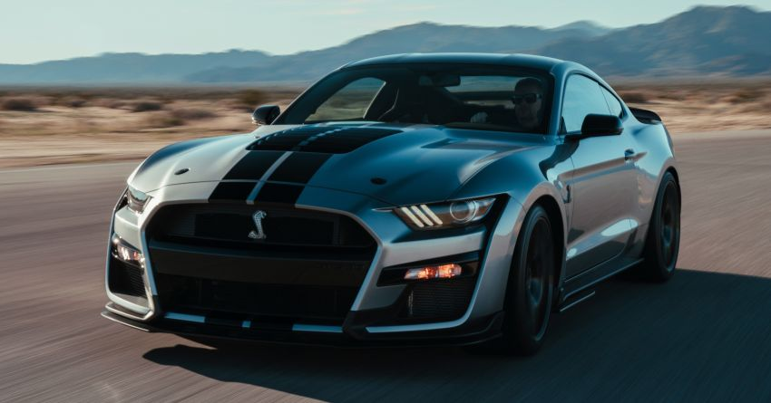 2020 Mustang Shelby GT500 debuts in Detroit – 5.2 litre supercharged V8; 700 hp, 0-98 km/h under 3.5s Image #911822