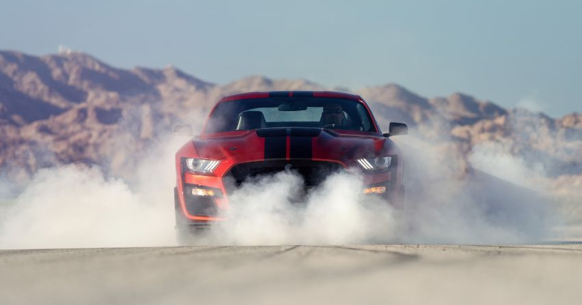 2020 Mustang Shelby GT500 debuts in Detroit – 5.2 litre supercharged V8; 700 hp, 0-98 km/h under 3.5s Image #911824