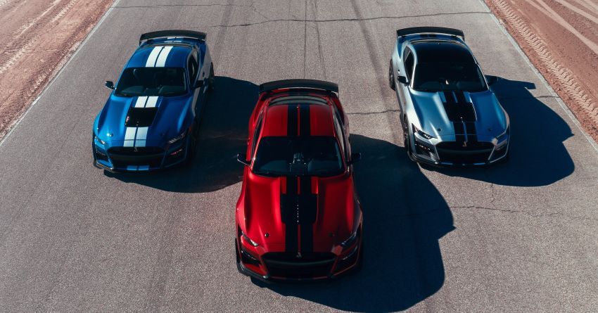 2020 Mustang Shelby GT500 debuts in Detroit – 5.2 litre supercharged V8; 700 hp, 0-98 km/h under 3.5s Image #911825