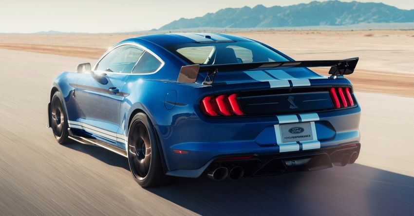 2020 Mustang Shelby GT500 debuts in Detroit – 5.2 litre supercharged V8; 700 hp, 0-98 km/h under 3.5s Image #911826
