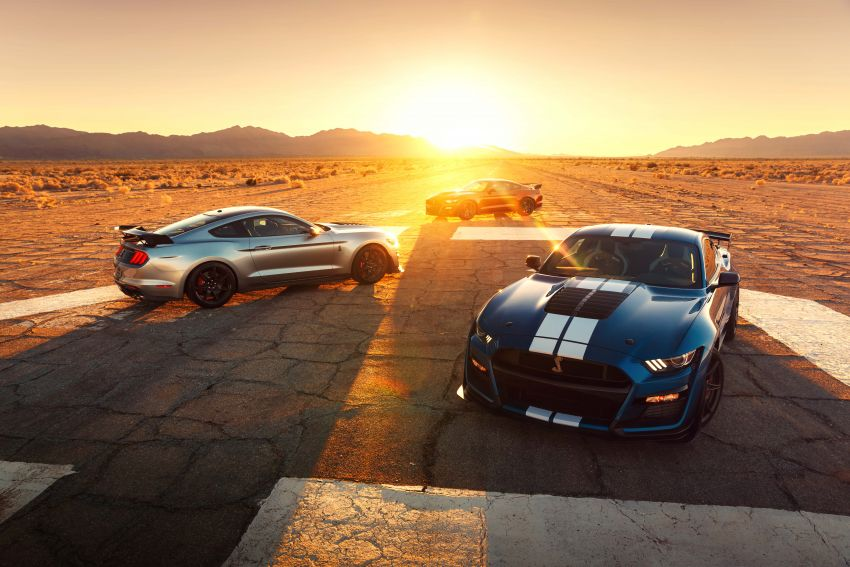 2020 Mustang Shelby GT500 debuts in Detroit – 5.2 litre supercharged V8; 700 hp, 0-98 km/h under 3.5s Image #911828